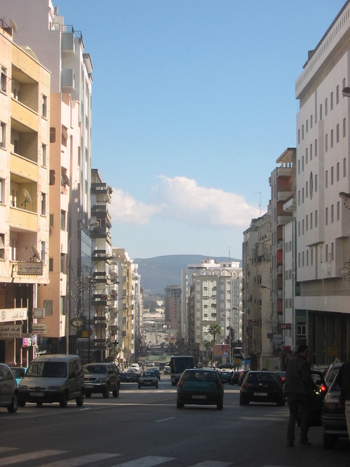 Avenue Mohamed V, bolibar pour les intimes...